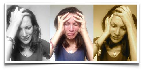 ls tres caras de la angustia
