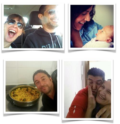 amigos del blog en selfie