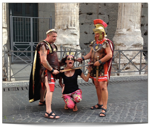 cautiva de los romanos