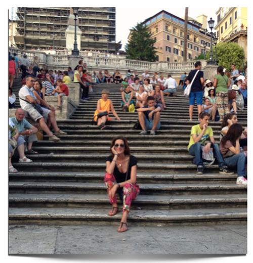 escalinata plaza españa de roma