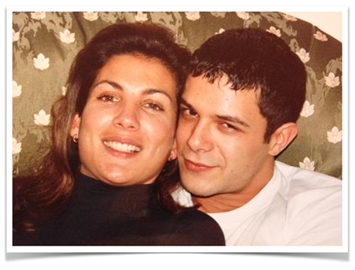 Nuestro primer Selfie en el año 1995. Siempre nuestra amistad sincera.