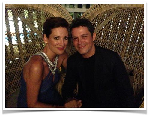Nos hicimos esta foto el año pasado en Marbella en la Gala Starlite