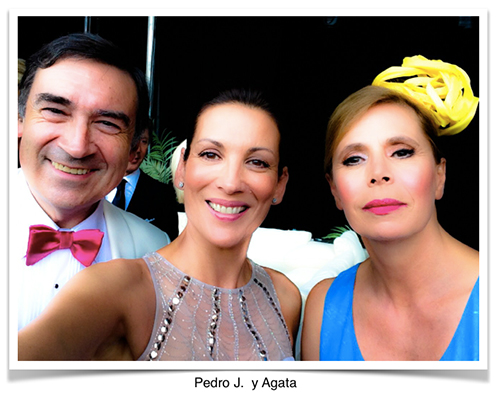 Pedro J Ramirez y Agata Ruíz de la Prada