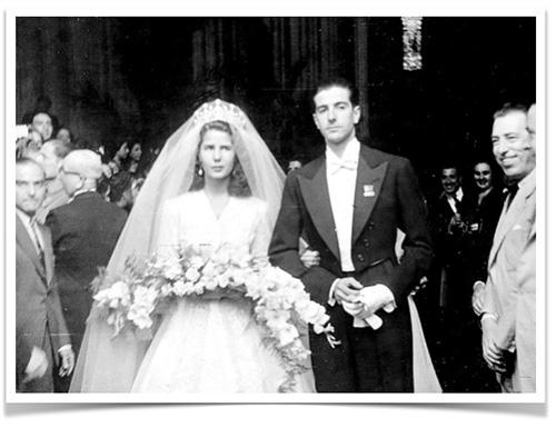 Cayetana Duquesa de Alba y Luís Martinez de Irujo