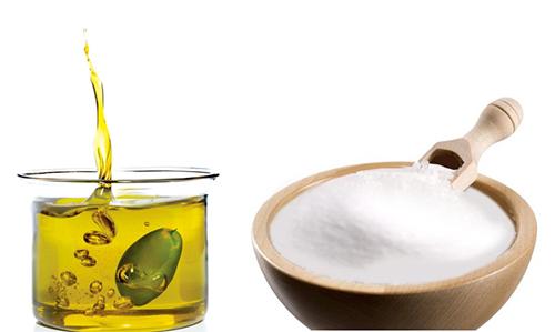 Aceite y Sal gorda