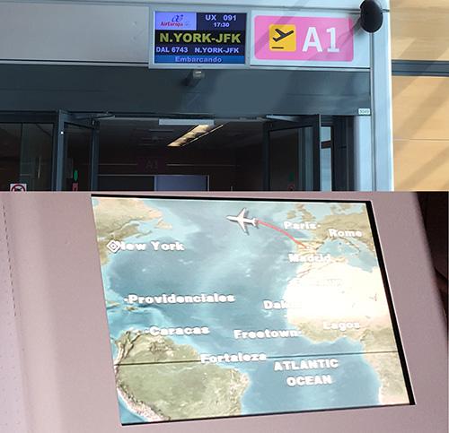 Puerta de embarque Air Europa