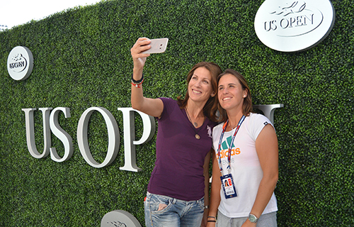 Selfie Anabel Medina con Samsung Galaxy S6 Edge