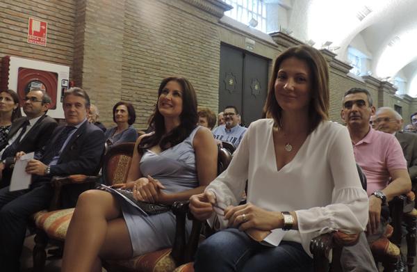 """Junto a mi amiga Eva Ruíz, presentadora en Canal Sur, galardonada con el Premio """"Málaga en el Corazón"""""""