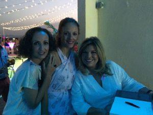 Terelu Campos con Pili y Belu Cervantes